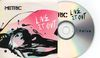 Live It Out French Promo Cdr Album Card Sleeve