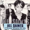 ALL SAINTS - I Know Where It's At 2 Tracks Card Sleeve
