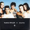 Take That - Robbie Williams - Sure 2-track Card Sleeve