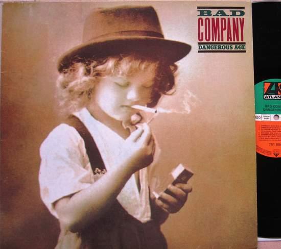 Bad Company - Dangerous Age - LP