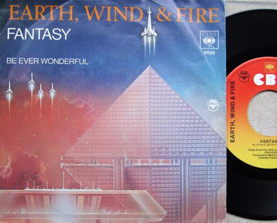 "Earth,wind & Fire - Fantasy / Be Ever Wonderful - 7"""