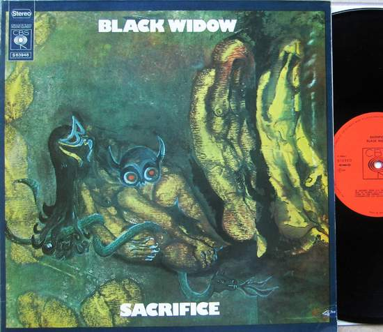 Black Widow - Sacrifice - LP