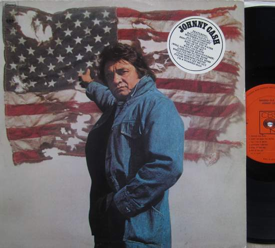 Johnny Cash - Ragged Old Flag - LP