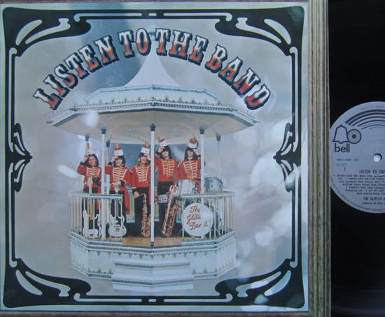 Glitter Band - Listen To The Band - LP
