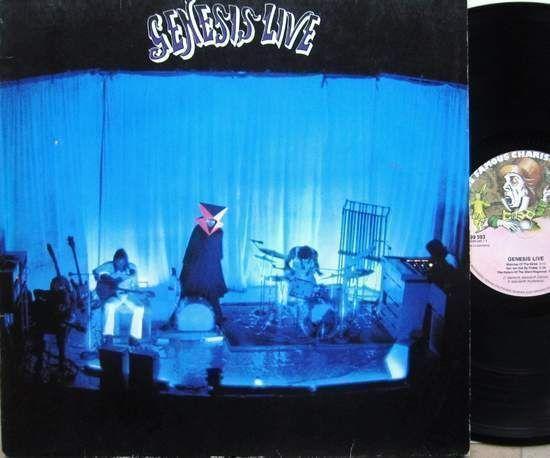 Genesis - Genesis Live LP