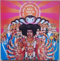 Jimi Hendrix - Axis Bold As Love 1st Issue 1967 Uk Track Lp 612 003 - LP
