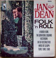 Jan & Dean - Folk N Roll 1st Press 1965 Uk Liberty Vinyl Lp Lby 1304 Promo - LP