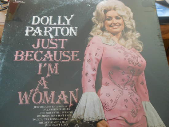 Dolly Parton - Just Because I'm A Woman - LP
