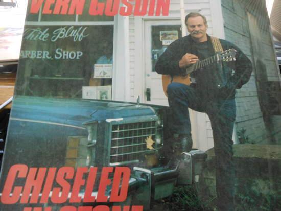Vern Gosdin - Chiseled In Stone - LP