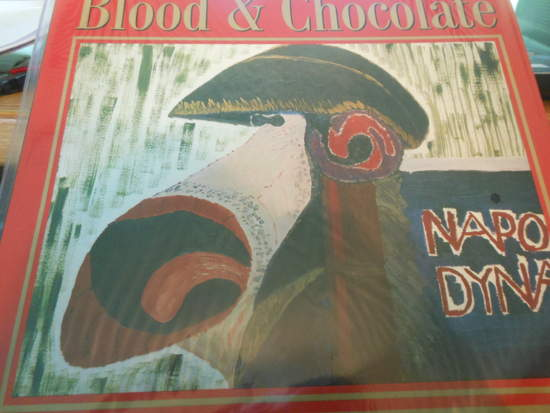 Elvis Costello & The Attractions - Blood & Chocolate - LP