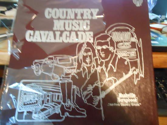 Various - Country Music Cavalcade - Nashville Scrapbook - LP Box Set
