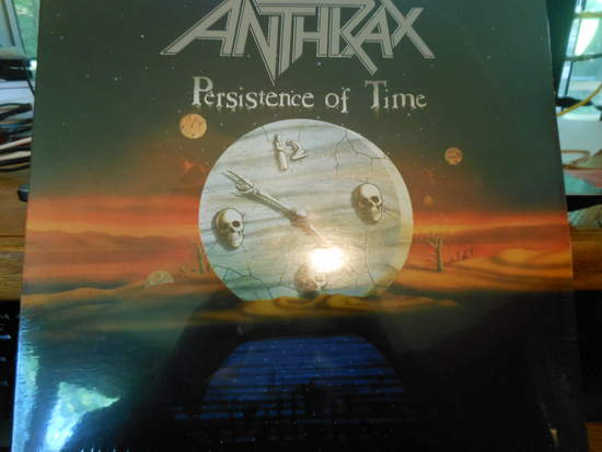 Anthrax - Persistence Of Time - LP