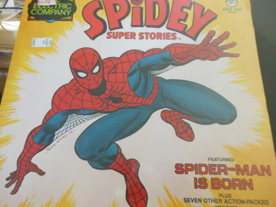 Electric Company - Spidey Super Stories - LP