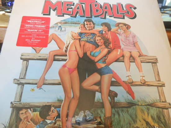 Various - The Original Soundtrack From The Motion Picture Meatballs - LP