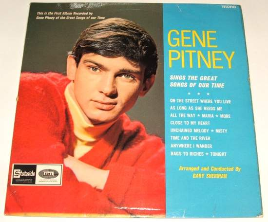 Gene Pitney - Sings The Great Songs Of Our Time - Uk Lp Stateside