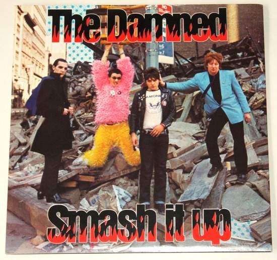 """Damned - Smash It Up / Burglar - Uk 7"""" Ps - 7""""PS"""