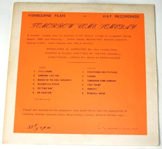 Peter Howell & John Ferdinando - Tomorrow Come Someday - Uk Lp Original Signed - LP