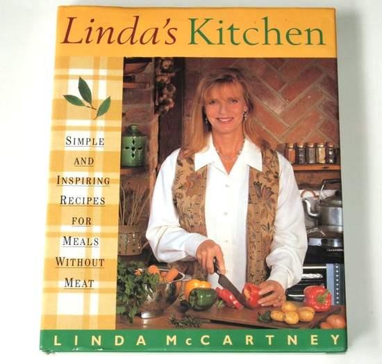 Linda Mccartney - Linda's Kitchen - Uk Hardback 1st Ed Signed - Book