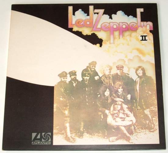 Led Zeppelin - Led Zeppelin 2 - Uk Lp Re-issue Gf