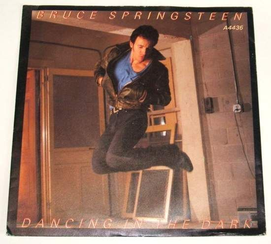 "Bruce Springsteen - Dancing In The Dark / Pink Cadillac - Uk 7"" Ps"