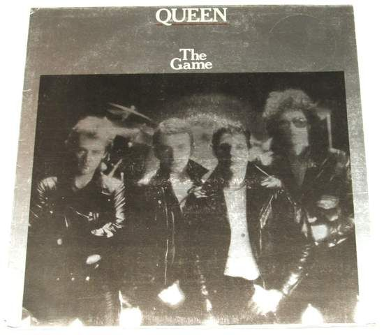 Queen - The Game - Uk Lp With Inner