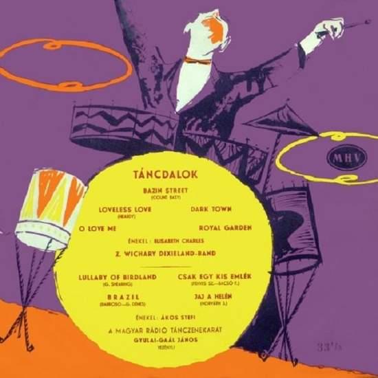 "Elizabeth Charles/akos Stefi - Tancdalok - 10"" Mini LP"