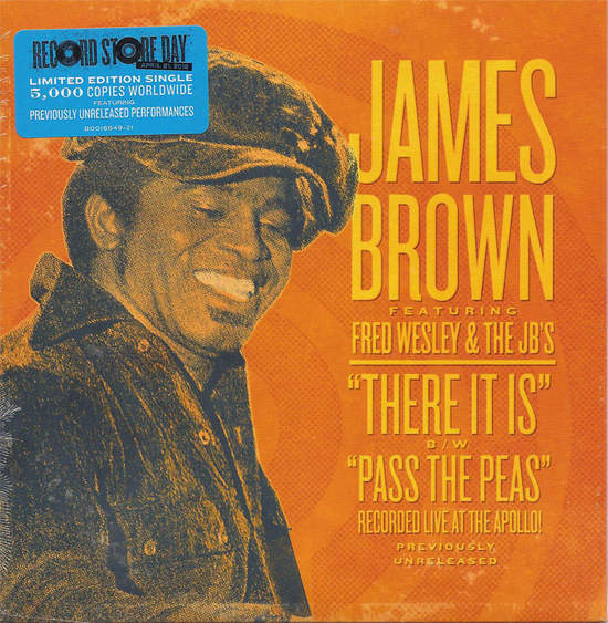 """Brown,james - There It Is / Pass The Peas (live Tracks) - 7"""""""