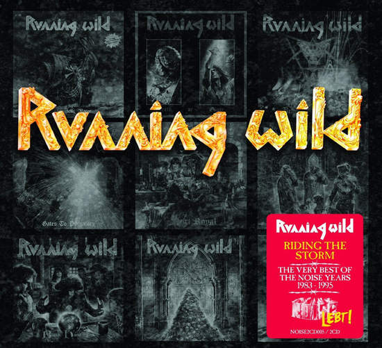 Running Wild - Riding The Storm - The Very Best Of The Noise Years 1983-1995 - 2CD
