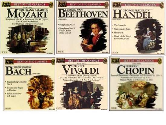 Various - 6 Classical Cd's For One Low Price - 6CD