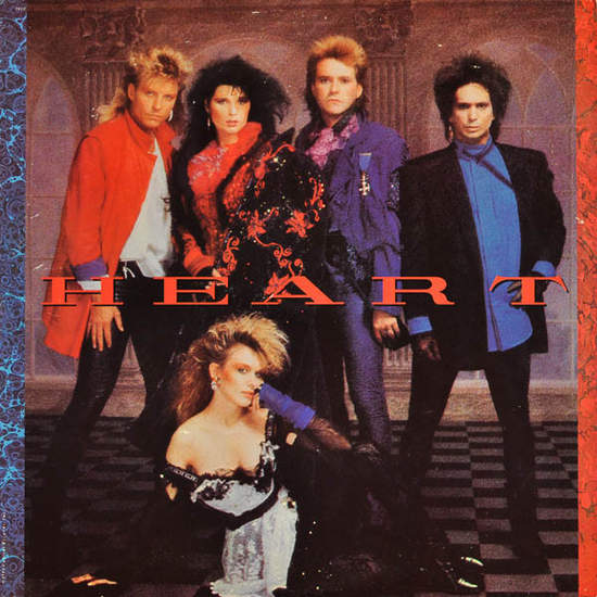 Heart - Self Titled - LP