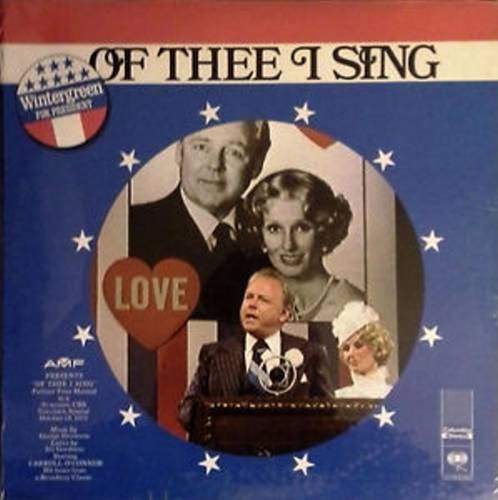 Carroll O'connor - Of Thee I Sing - LP