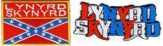 Lynyrd Skynyrd - Lynyrd Skynyrd 2 Fully Embroidered Patches - Patch