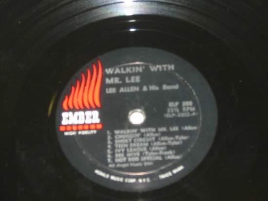 Lee Allen - Walkin' With Mr. Lee - LP