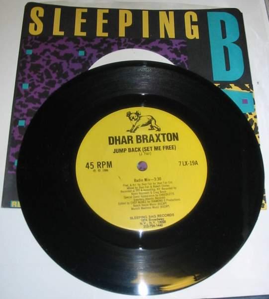 "Dhar Braxton - Jump Back - 7"""