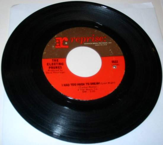 Electric Prunes - I Had Too Much To Dream (last Night) - 45