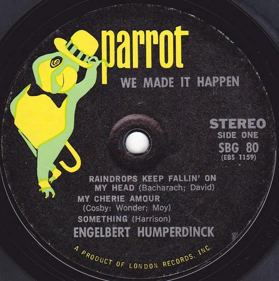 """Engelbert Humperdinck - We Made It Happen - 7"""""""