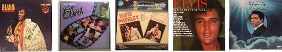 Elvis Presley - Set Of 5 Brand New Vinyl Lp's - LP