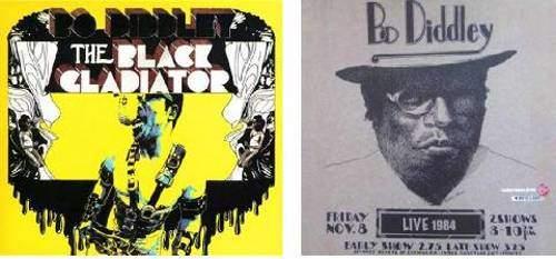 Bo Diddley - Bo Diddley Set Of 2 - Black Gladiator And Live 1984 - 2LP