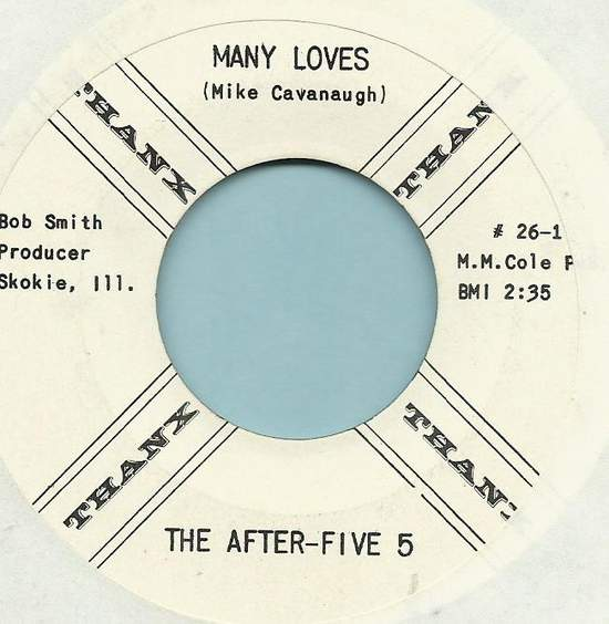 """After Five 5 - Many Loves / A Womans Like A Train - 7"""""""