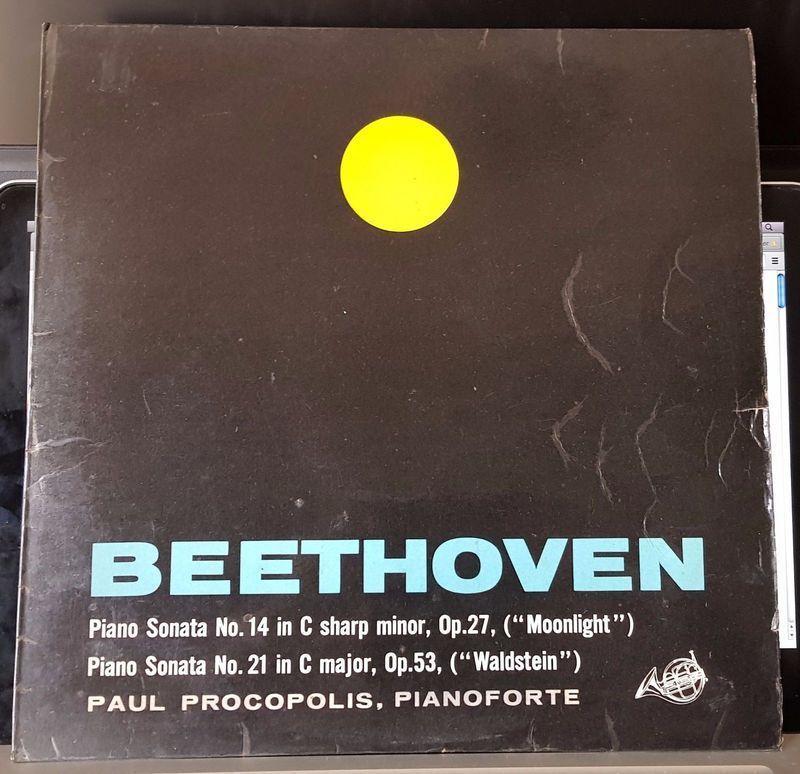 Paul Procopolis Beethoven, Piano Sonata N°14 Op 27 Records