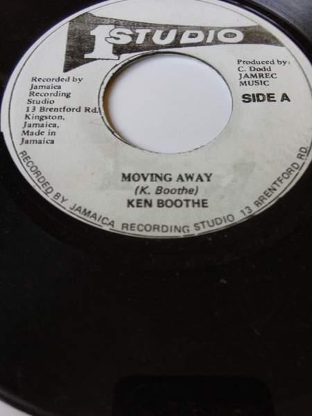 "Ken Boothe & Skatalites - Moving Away & Street Of Gold Side A/ Side B - 7"""