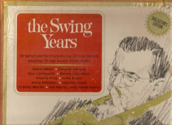 Various - The Swing Years - LP Box Set