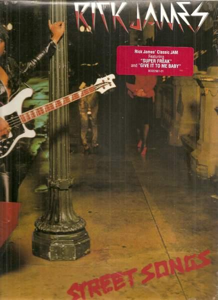 Rick James - Street Songs - LP