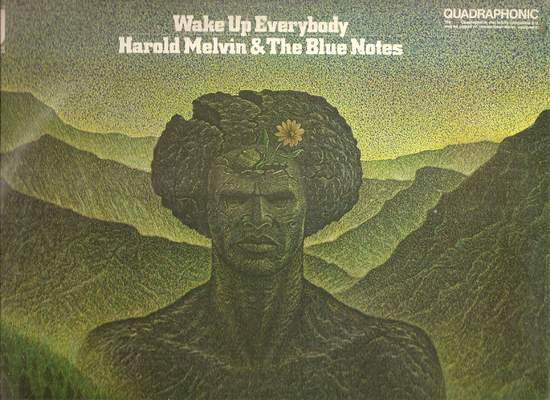 Harold Melvin & The Blue Notes - Wake Up Everybody--quadraphonic - LP
