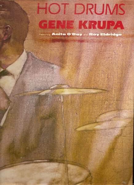 Gene Krupa  - Hot Drums - LP