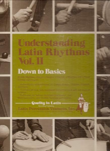 Various - Understanding Latin Rhythms Vol. Ii / Down To Basics - LP