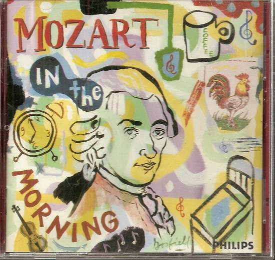 Wolfgang Amadeus* / Sir Neville Marriner / Academy - Mozart In The Morning, New Music - CD