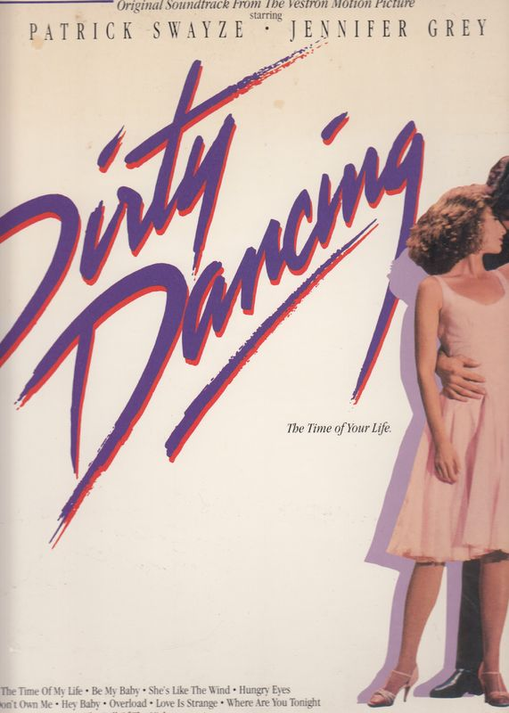Various - Original Soundtrack From The Vestron Motion Picture - Dirty Dancing - LP