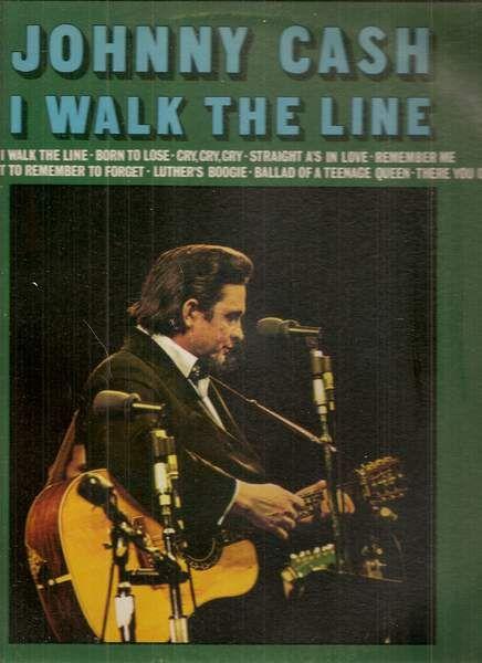 Johnny Cash  - I Walk The Line EP