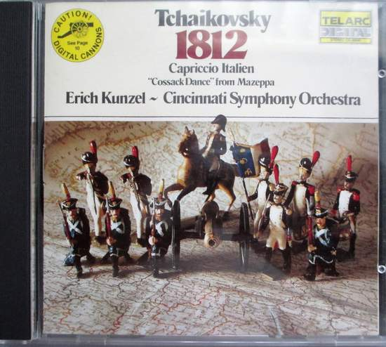 "Erich Kunzel & The Cincinnati Symphony - Tchaikovsky: 1812 Capriccio Italien ""cossack Dance"" From Mazeppa - CD"